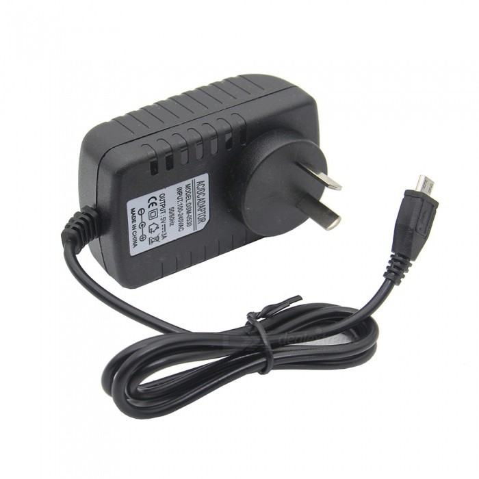 Geekworm DC 5V 3A Power Supply Adapter AC Charger for Raspberry Pi 3 Model  B+ /3B