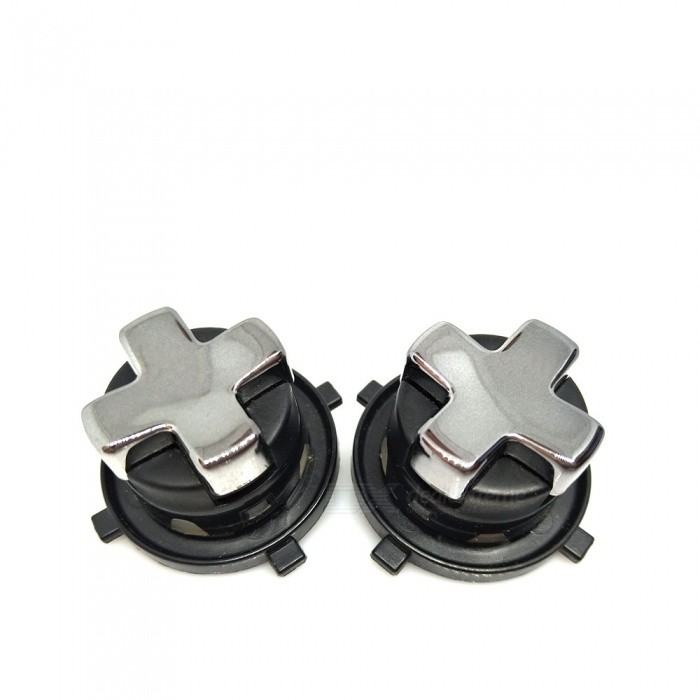 Replacement Rotating Transforming D-Pad Buttons for XBOX 360 Slim - Black (2 PCS)