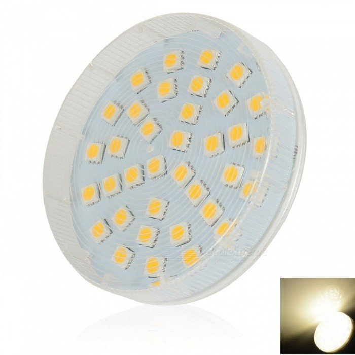 LeXing Lighting GX53 5W 36 LEDS SMD 5050 Natural White Cabinet Spotlight Ceiling Light (AC 220~240V)