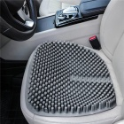 Qook-18-Inches-Silica-Gel-Car-Seat-Cushion-Round-Non-Slip-Chair-Pad-for-Office-Truck-Home-Gray