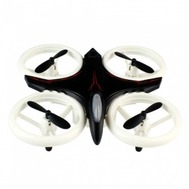 XXD158 YW Light Propeller Protection 4-Channel  RC Drone - Black