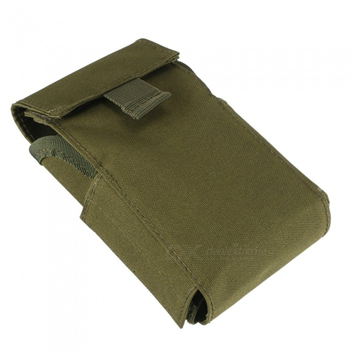Outdoor Tactical Nylon Bullet Bag 12G Bullet Storage Bag - Army Green
