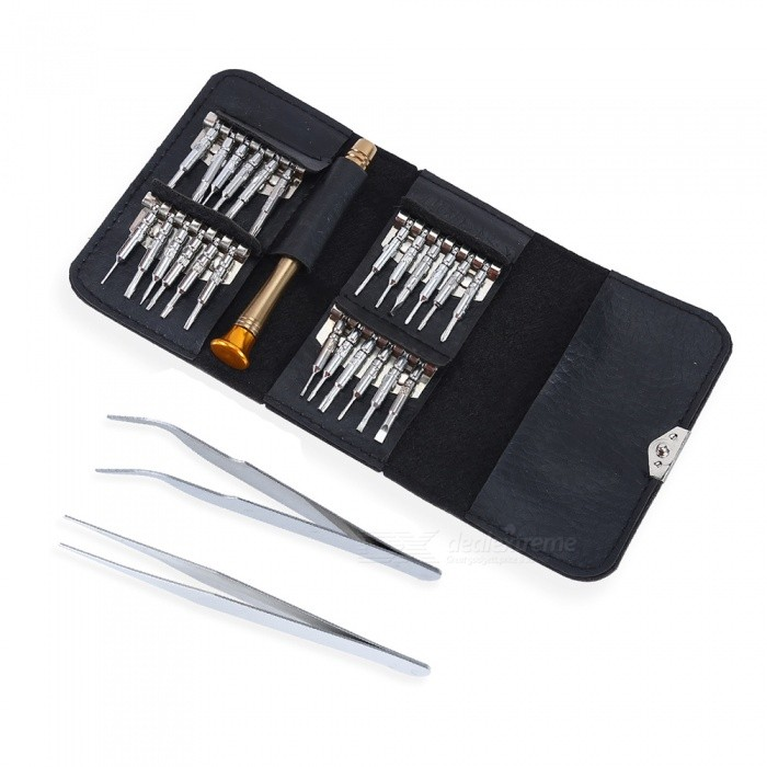 Buy Portable Wallet Type 27-in-1 Screwdriver Set Tool with Litecoins with Free Shipping on Gipsybee.com
