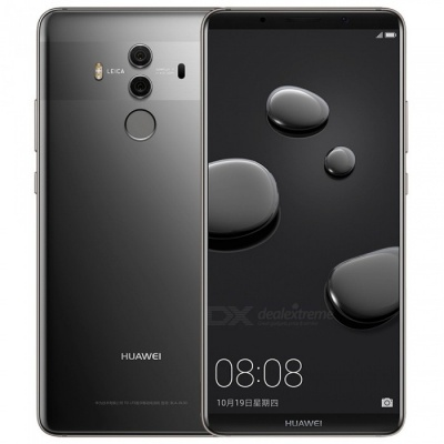 "HUAWEI Mate 10 Pro 6"" 3D Curved Glass Octa-Core 4G Phone w/ 4GB RAM, 128GB ROM - Gray"