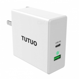 TUTUO-60W-USB-C-PD-(Power-Delivery)-2b-Quick-Charge-30-Fast-Wall-Charger-with-UK-EU-US-Plug-Power-Adapter