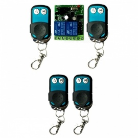 12V-2-Channel-100m-Wireless-Remote-Controller-Switch-Module-Blue-2b-Green