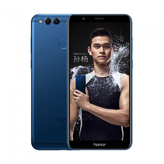 Honor 7X Android 7.0 4G 5.93 inch Phone with 4GB RAM, 64GB ROM, 3340mAh Large Battery