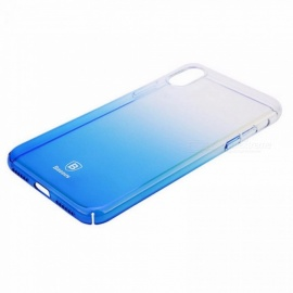 Baseus Gradient Color Shockproof Protective PC Back Case Cover For IPhone X  / PC