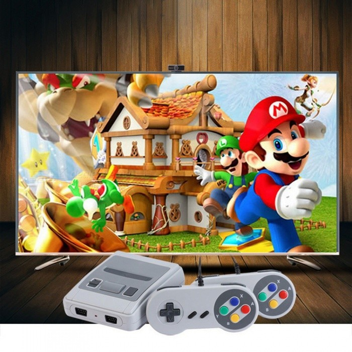 HDMI HD Version Mini TV Handheld NES Game Machine Console W/ 621 Games Included (US Plug)