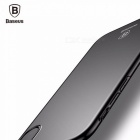 Baseus Luxury Phone Case For IPhone X 10 Ultra Thin Slim Back Cover Case For Apple IPhoneX Capinhas Hard PC Coque Fundas Black