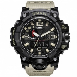 Military-Watch-Digital-SMAEL-Brand-Watch-S-Shock-Mens-Wristwatch-Sport-LED-Watch-Dive-1545B-50m-Wateproof-Fitness-Sport