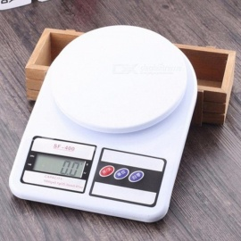 High Precision Home Use LCD Digital Kitchen Scale Weight Food Diet White d2a11dee96b