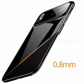 New IPhoneX Phone Case Apple 10 Protective Glass Cover + PC 2 In 1 Creative Anti-drop