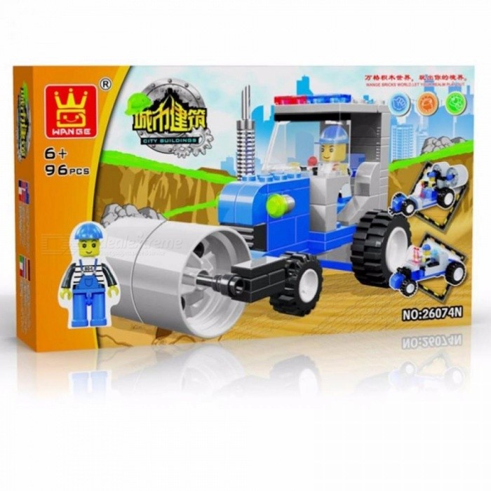 Wange 26073 Project Series Assembled Building Blocks Hands-on Bricks Toy Early Childhood Educational Toys