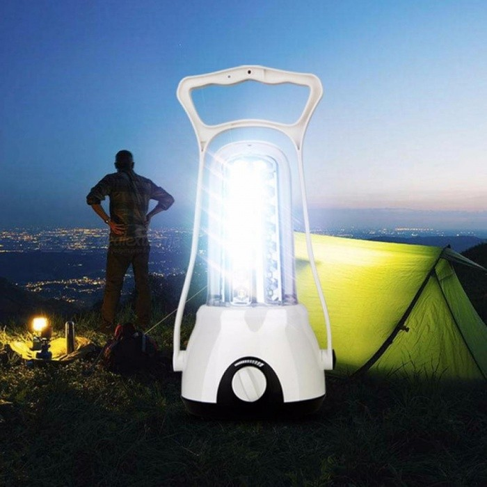 YAGE YG-5706 Rechargeable Camping Hiking Led Lamp Lantern Tourist Garden Lights Flashlight Tent Lamp 3W/White