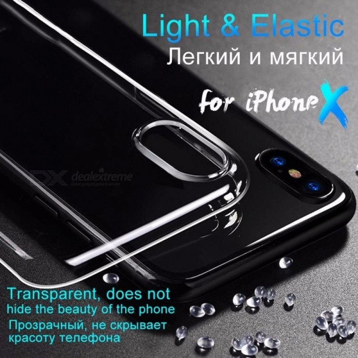 HoCo Ultra Thin Smooth Transparent TPU Case For IPhone 7 4.7-Inch