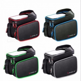 WHEEL-UP-62-Inch-Waterproof-Touch-Screen-Bike-Bag-Front-Frame-Top-Cell-Phone-TPU-Cycling-Bag