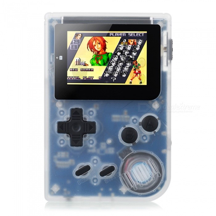 RS-90 Retro Mini Handheld Game Player 32bit Portátil Consola De Jogos Embutido 36 Jogos De Apoio Download MP4 Player Video Preto