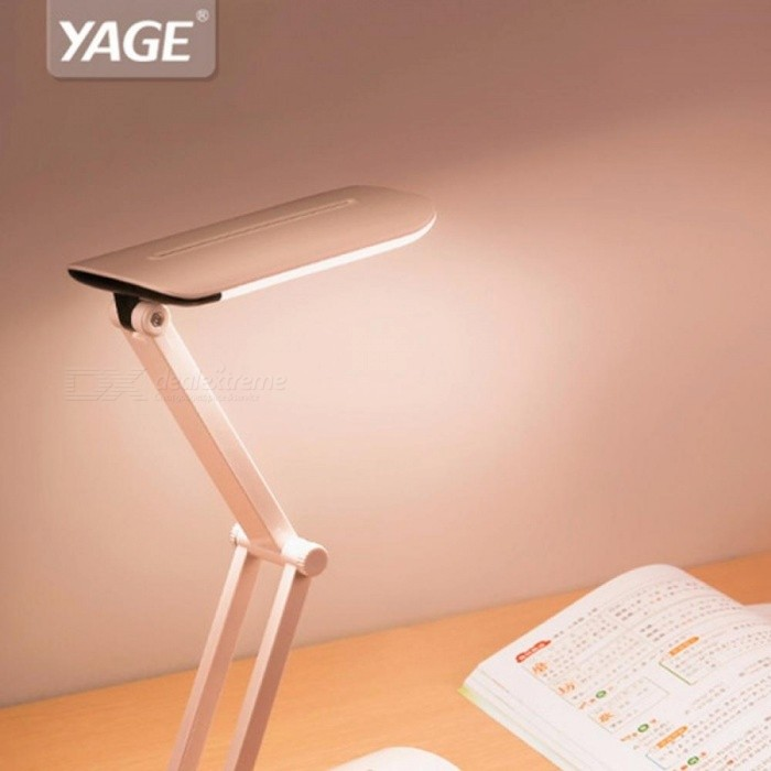 Buy YAGE YG-5953 Foldable LED Table Lamp 800mAh Battery On Colorful Night Light Lamp Desk Light Flexible For Kids White/0-5W with Litecoins with Free Shipping on Gipsybee.com