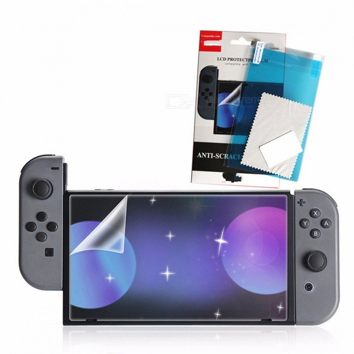 Protection Film Highly 3D Screen Protector For Nintendo Switch Transparent White