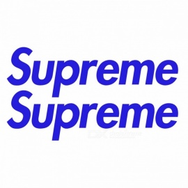 2PCS-Fashion-Brands-Logo-Supreme-Skateboard-Graffiti-Waterproof-Car-Stickers-DIY-Car-Scratch-proof-Stickers