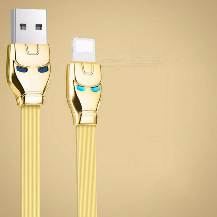 HOCO USB Cable For IPhone 8 Apple-Plug Fast Charger Data Cable For IPhone X 7 6 6s 5 5s IPad Mobile Phone Cables