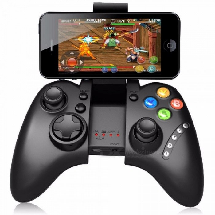 IPEGA-9021 Joystick Wireless Bluetooth Gamepad PS4 Controller Schwarz