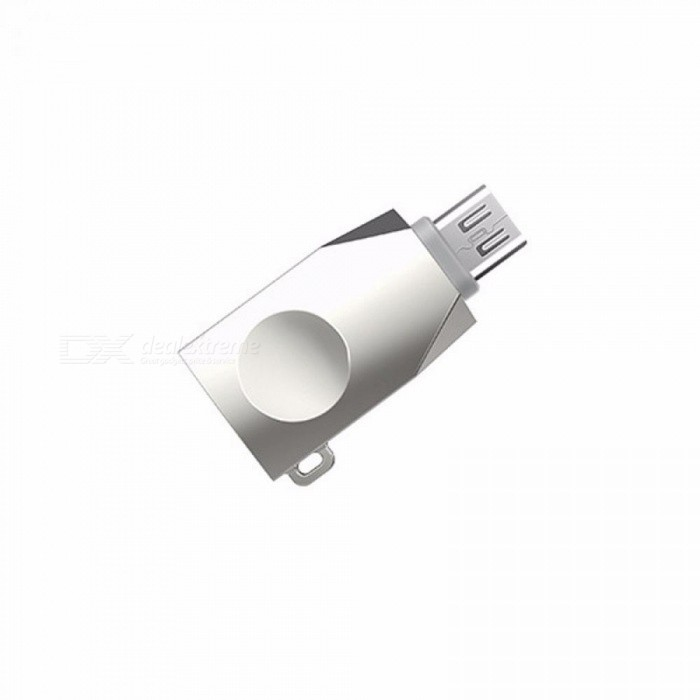 HOCO UA10 Small Size Micro USB OTG Adapter Portable Size Female To Male OTG Converter For Tablet Android Smartphones Silver