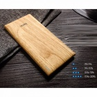 HOCO B10 7000mAh Wood Texture Single USB Portable Power Bank, Mobile Powerbank Slim External Battery For IPHONE, Samsung Orange