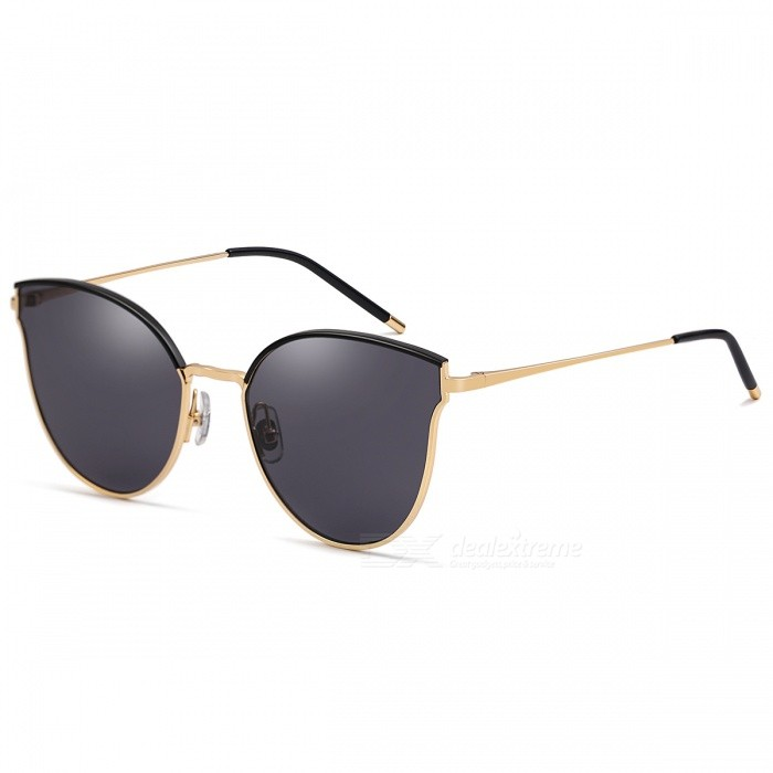 MOBIKE-5024-Fashion-Trend-UV400-Protection-Cat-Eye-Sunglasses-Gold-2b-Black