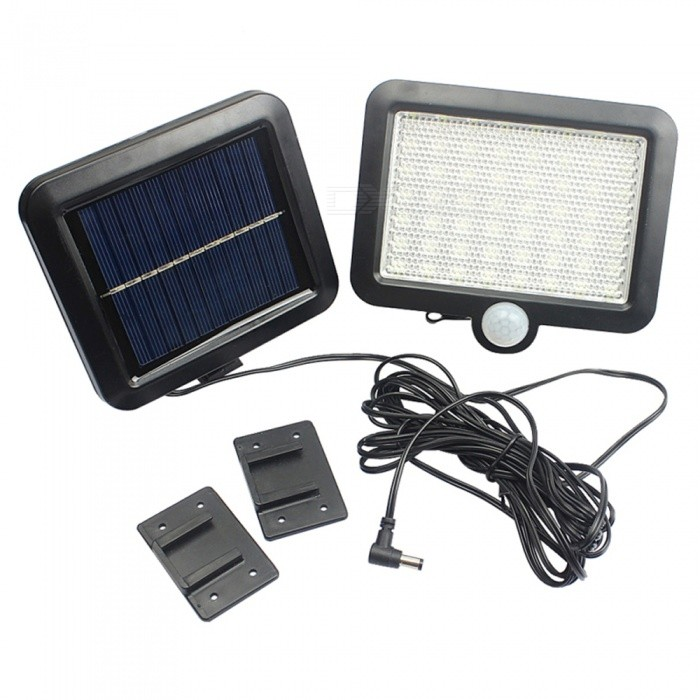 56 LED Waterproof Solar Light PIR Motion Sensor Wall Lamp Outdoor Garden Emergency Street Solar Garden Light
