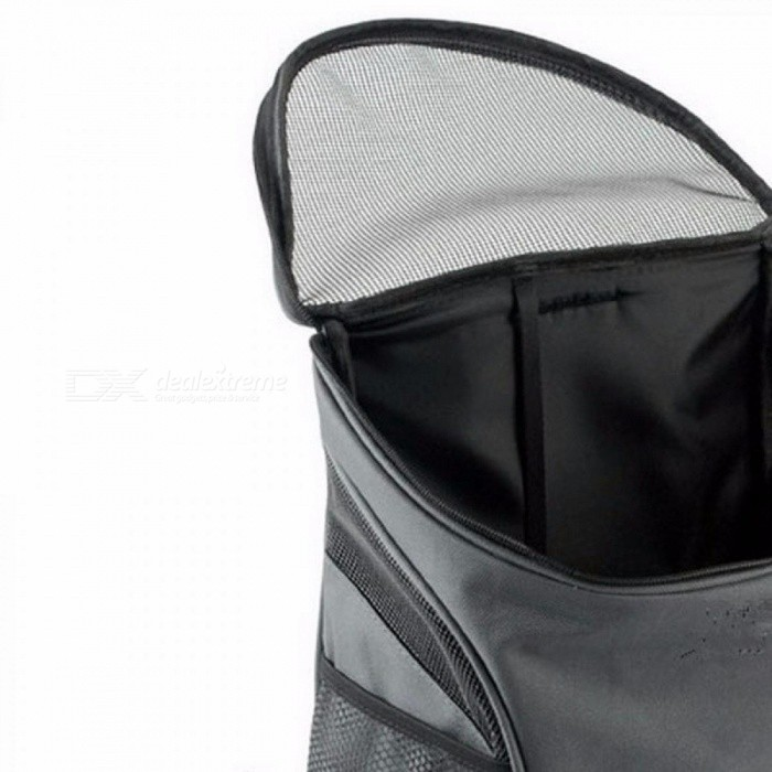 24e3c12b686ac ... Outdoor Portable Double Mesh Shoulder Dog Bag Backpacks Carrier Pouch  Bags Polyester Durable Breathable Comfortable Gray ...