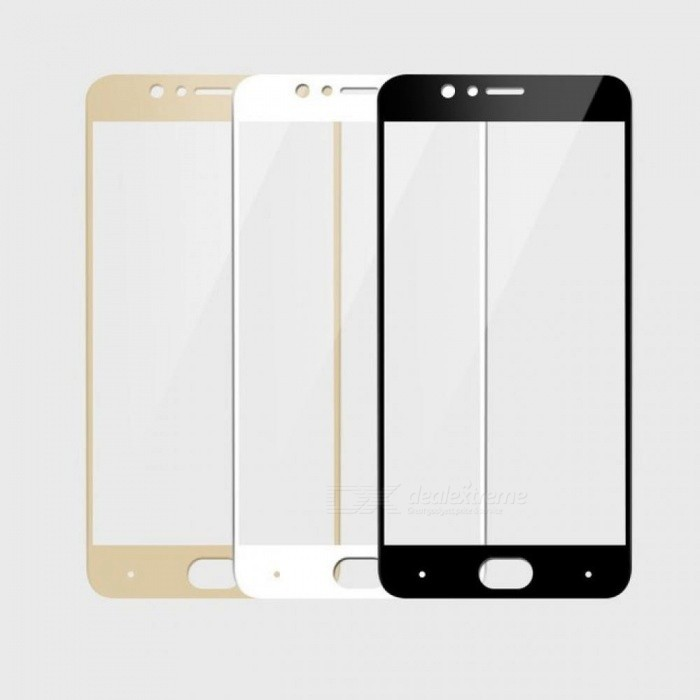 BAKEEY Anti-Explosion Full Cover Tempered Glass Screen Protector for Nubia M2 Global Rom/Nubia M2 Durable White
