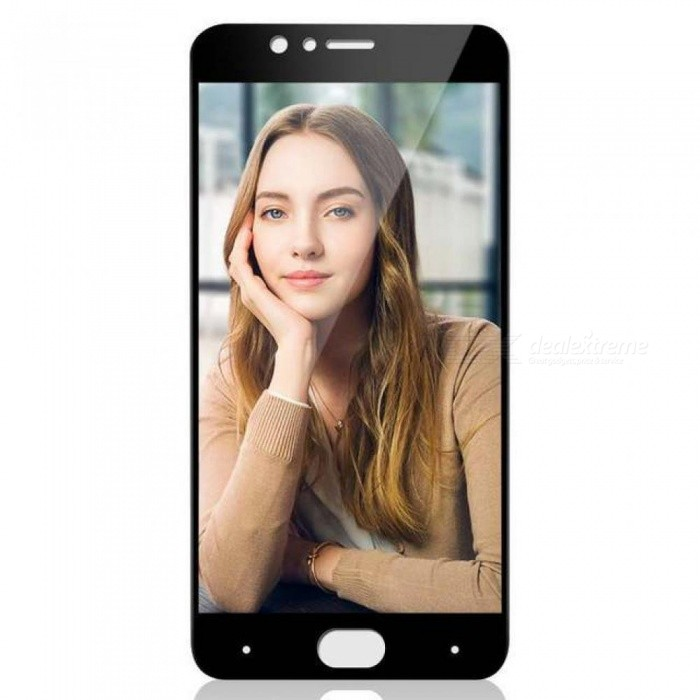 Buy BAKEEY Anti-Explosion Full Cover Tempered Glass Screen Protector for Nubia M2 Global Rom/Nubia M2 Durable Black with Litecoins with Free Shipping on Gipsybee.com