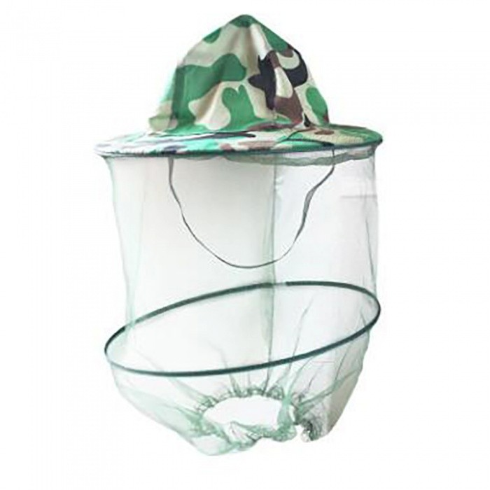 Buy AoTu Outdoor Shawl Cap Outdoor Mosquito-proof Hat - Camouflage with Litecoins with Free Shipping on Gipsybee.com