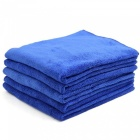 CARKING-5Pcs-400g-40-x-40cm-Multifunctional-Microfiber-Cleaning-Towel-for-Car-Body-Blue