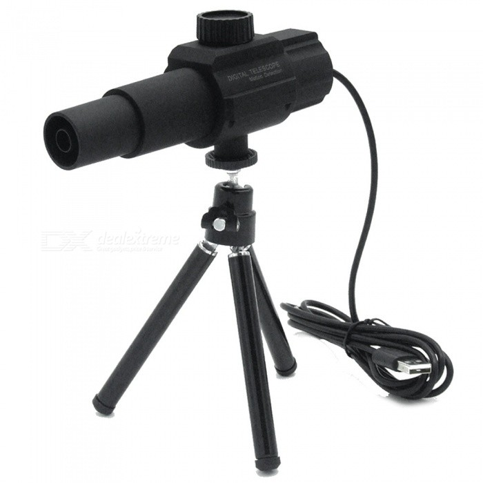 Intelligent 2.0MP 70X USB Digital Binocular Telescope - Black for sale in Bitcoin, Litecoin, Ethereum, Bitcoin Cash with the best price and Free Shipping on Gipsybee.com