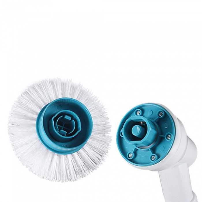 Buy ZHAOYAO Electric Turbo Scrub Long Handle Cleaning Brush with Litecoins with Free Shipping on Gipsybee.com