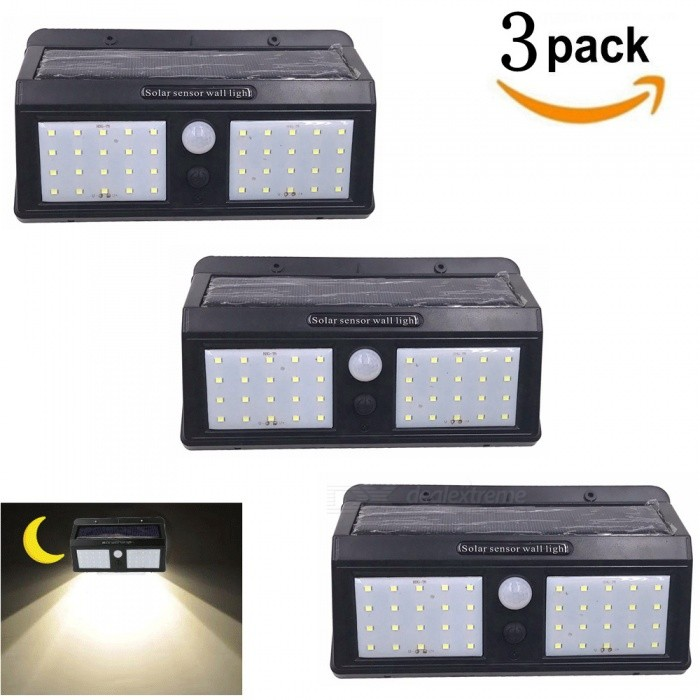 ZHAOYAO-3Pcs-IP65-Waterproof-Solar-Charge-2835-SMD-40-LED-Light-Lamp-for-Outdoor-Courtyard-Lighting