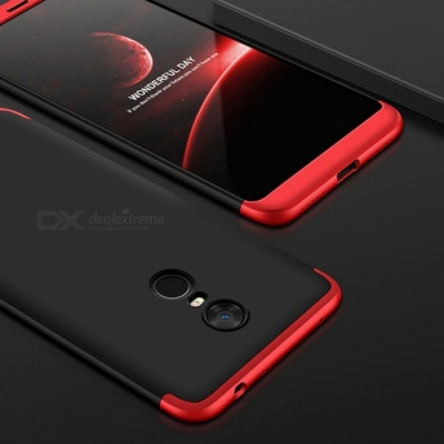 UVR Case For Xiaomi Redmi 5 Plus Case 360 Degree Full Protection Matte Hard PC 3 in 1 Back Cover