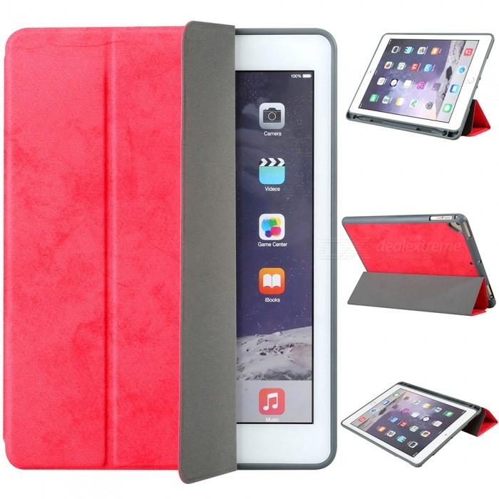 Measy-Flexible-Soft-TPU-6th-Generation-Case-Slim-Fit-Trifold-Stand-Folio-Smart-Cover-for-IPAD-97quot