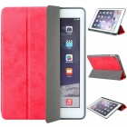 Measy-Flexible-Soft-TPU-6th-Generation-Case-Slim-Fit-Trifold-Stand-Folio-Smart-Cover-for-IPAD-97-Red