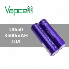 VAPCELL-18650-3500mAh-37V-Rechargeable-High-Capacity-Lithium-Battery-Continuous-10A-(2-PCS)