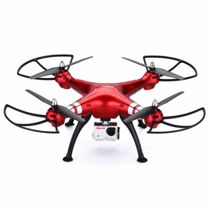 Original Syma X8HG Drone with Camera RC Quadcopter with 8.0MP HD Camera RC Helicopter Headless Model with LED Light Dron  Red for sale for the best price on Gipsybee.com.