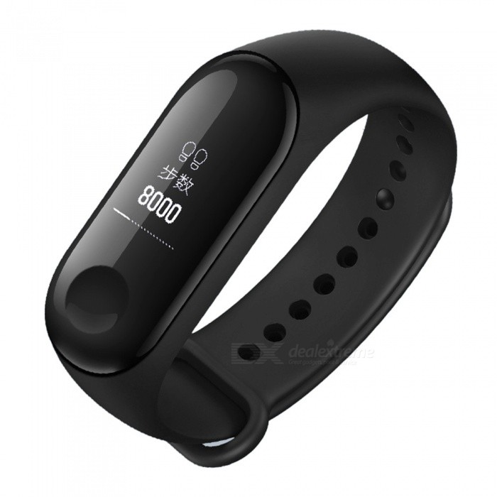 Original Xiaomi Mi Band 3 OLED Heart Rate Monitor Bluetooth 4 2 Smart  Bracelet Wristband (Chinese Version)