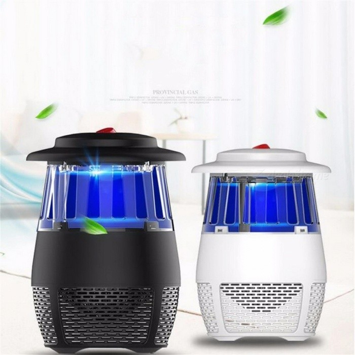 USB Electronic LED Mosquito Killer Light 5W Safety Mosquito Trap Insect Killing Lamp For Living Room Bedroom Kitchen Black