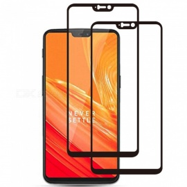 2pcs ASLING Full Cover Tempered Glass Screen Protector for OnePlus 6