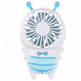 Little-Bee-Shape-Portable-Handheld-Ultra-thin-Mini-USB-Fan-w-Night-Light-for-Office-Home