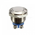 ESAMACT-AC-250V-3A-NO-16mm-Metal-Momentary-Round-Push-Button-Switch-NO-Normally-Open-(10-PCS)