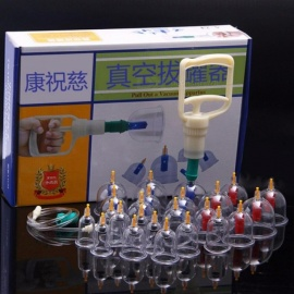 Health-Massage-24-Cans-Vacuum-Cupping-Home-Sucker-Cupping-Device-Tool